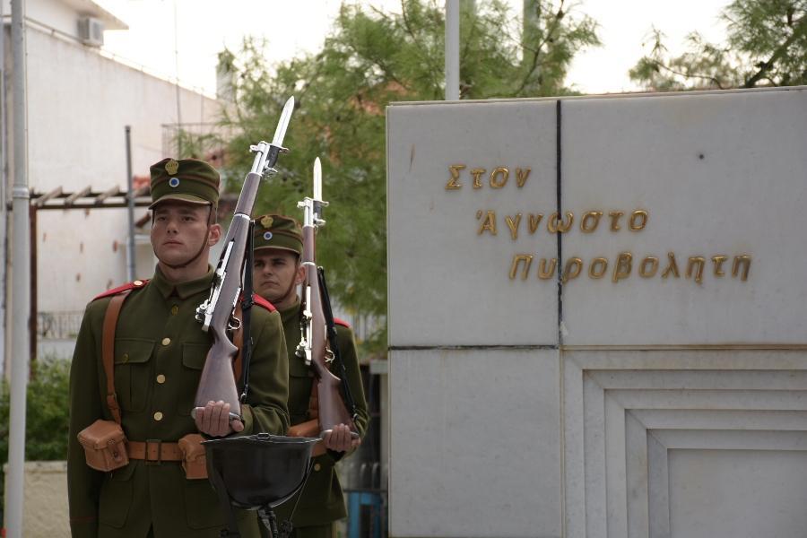 Ο ΥΕΘΑ Πάνος Καμμένος στις εκδηλώσεις για την εορτή της Προστάτιδας του Πυροβολικού Αγίας Βαρβάρας στη Σχολή Πυροβολικού