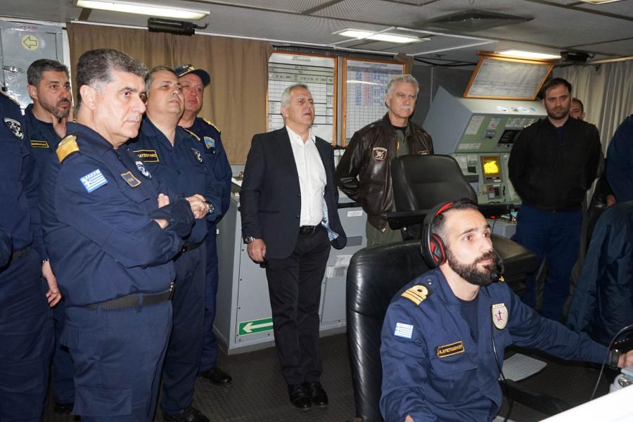 Παρακολούθηση Επιχειρησιακών Δραστηριοτήτων Ενόπλων Δυνάμεων από τον ΥΕΘΑ Ευάγγελο Αποστολάκη