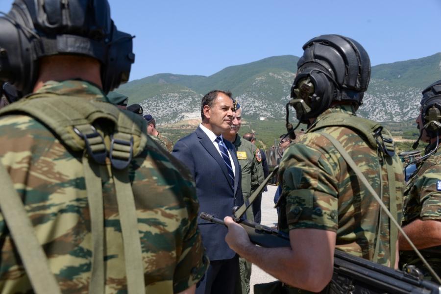 Επίσκεψη ΥΕΘΑ Νικόλαου Παναγιωτόπουλου σε Δ΄ Σώμα Στρατού και ΧΧ ΤΘΜ στην Ξάνθη, καθώς και στην Καβάλα