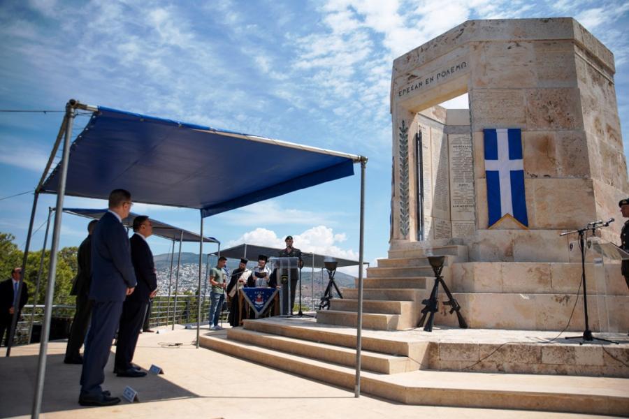 Παρουσία ΥΕΘΑ Νικόλαου Παναγιωτόπουλου στην Επιμνημόσυνη Δέηση υπέρ των πεσόντων Καταδρομέων