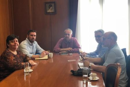Meeting under the Alternate Minister of National Defence Panagiotis  Rigas on Environmental Matters