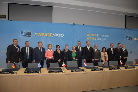Defence Minister Panos Kammenos' statement at NATO Defence Ministers  Meeting in Brussels