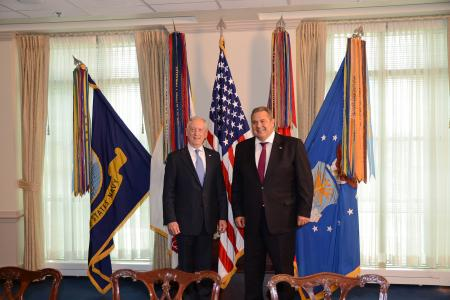 Meeting with the US Secretary of Defence James Mattis in Washington
