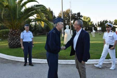 Alternate Minister of National Defence Panagiotis Rigas Visits the  Hellenic National Meteorological Service