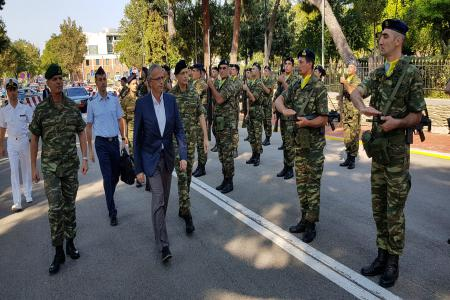 Panagiotis Rigas: The Armed Forces in the service of the country and the community.Visit by the Alternate Minister to units and formations in Thessaloniki