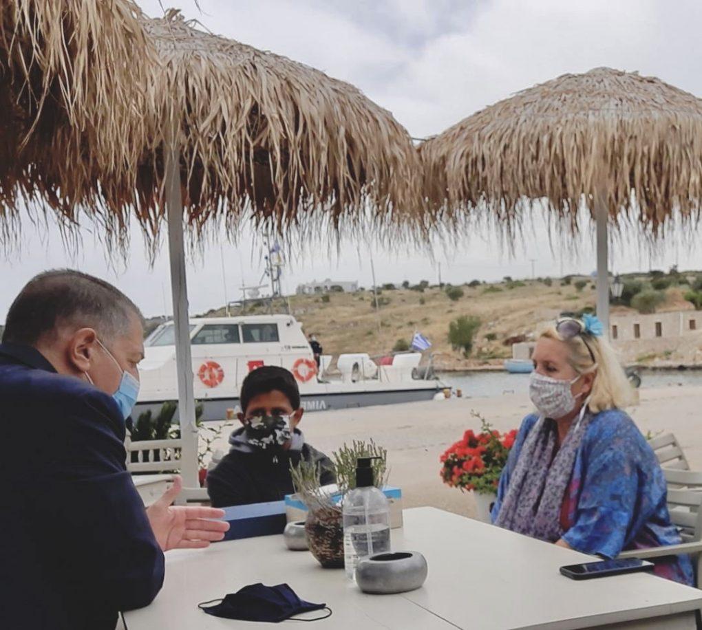 Επίσκεψη ΥΦΕΘΑ Αλκιβιάδη Στεφανή σε Πάτμο, Λειψούς, Αρκιούς & Σάμο για τις Άγιες Μέρες του Πάσχα